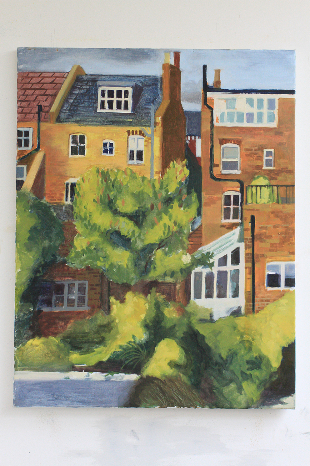 Courthope Road oil on linen 110x75cm 2011