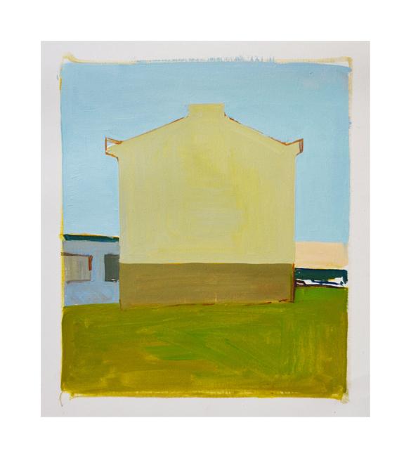 Skagastrond  Oil on canvas 30x35cm 2017
