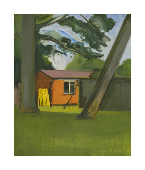 Barham Park  oil on canvas  90x80cm  2017