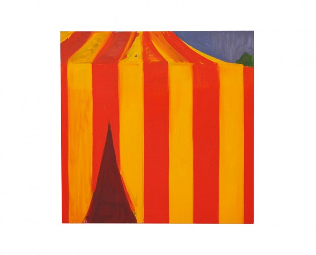 Tent oil on canvas 140x140cm 2019