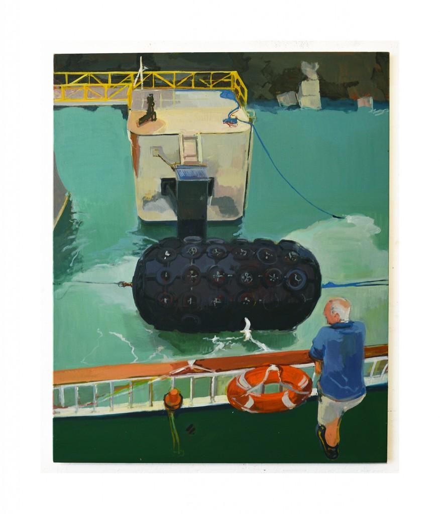 Departure oil on canvas 110x90cm 2019