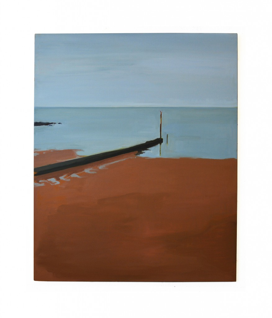 Jetty oil on canvas 110x90cm 2019