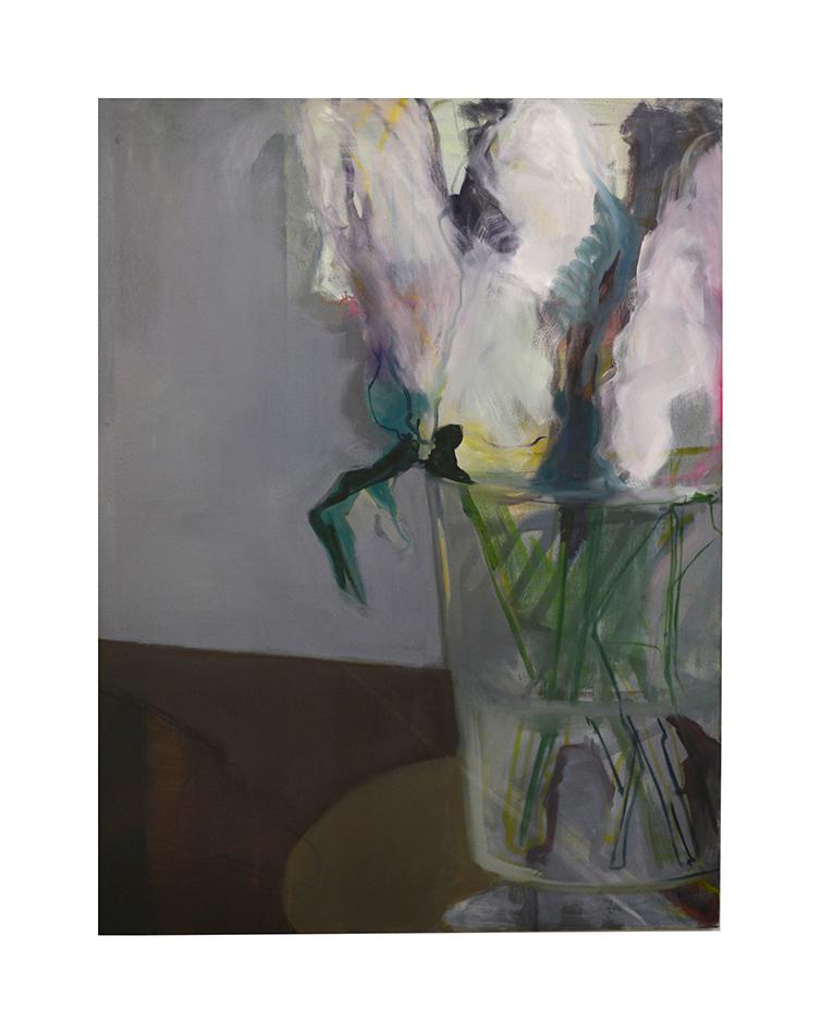 Hyacinths oil on canvas 140x120cm 2019