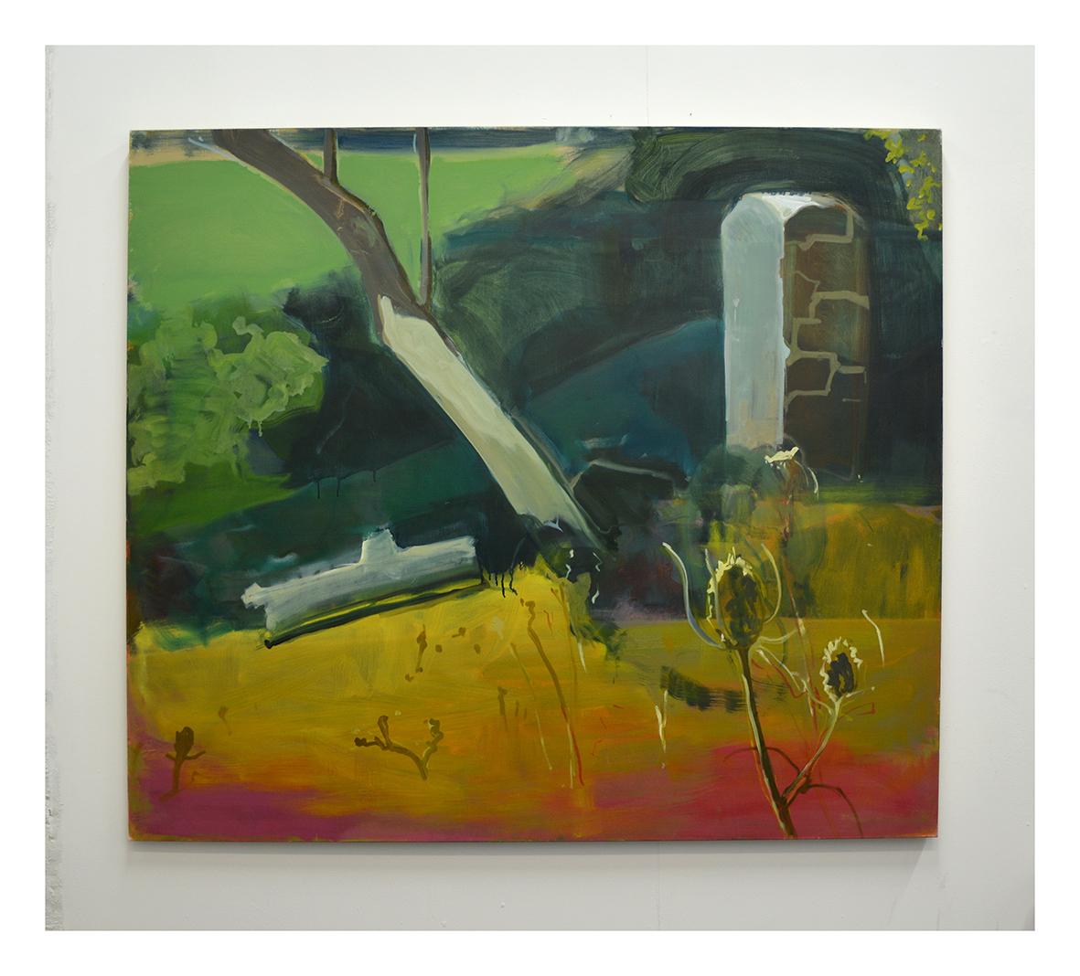 Landscape oil on linen 160x140cm 2020