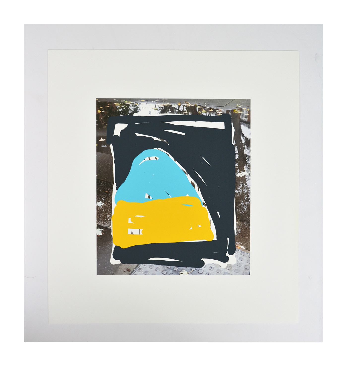 Cave/puddle Archival inkjet print on Somerset paper 40x30cm 2020 edition of 10