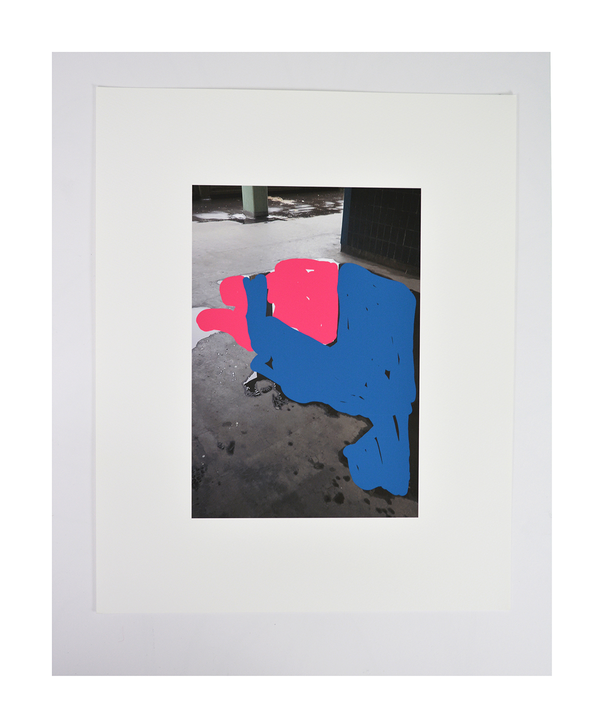Estate/Puddle  archival inkjet print on Somerset paper 39x31cm 2020 edition of 10