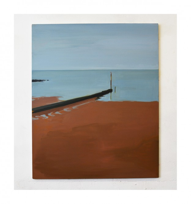 Jetty oil on linen 120x100cm 2019