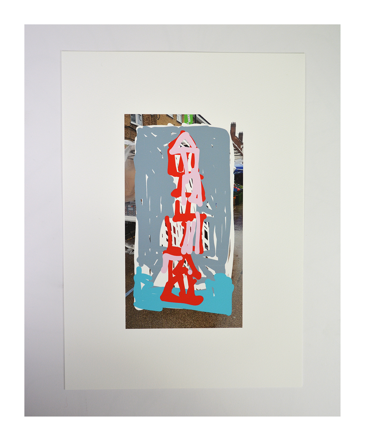 Tower/Market archival inkjet print on Somerset paper 39x28cm 2020 edition of 10